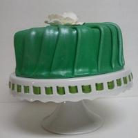 Pleated Fondant by Cake Creations by Trish