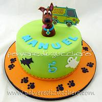 Scooby- Doo cake by Paola