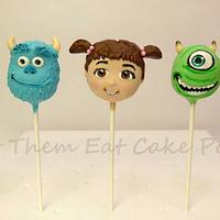 Monsters Inc. Cake Pops