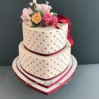 Bouquet wedding cake!