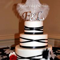 Masquerdade inspired Cake