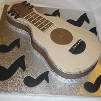 Taylor Swift Guitar by DoobieAlexander