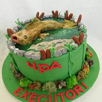 Торта за рибар