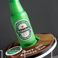 Heineken Larger Cake