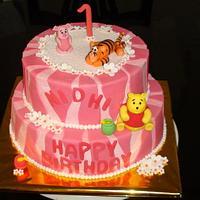 Disney Cake!! by Marilyn mary