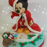 Mickey Mouse... in Christmas time
