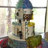 Harry Potter & Tangled Cake!!!