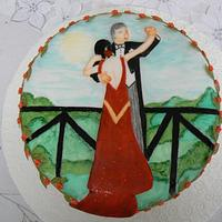 Ballroom cake #3