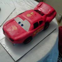 Cars 2  Cake Ligtnin McQueen
