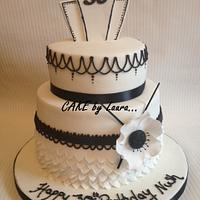 1920s style cake