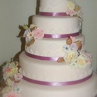 Antique Wedding Cake