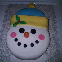 My snowman!!!!