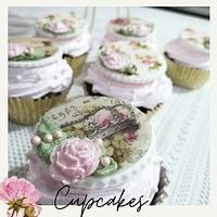 Cupcakes vintage