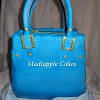 Crocodile effect handbag by Madiapple