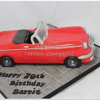 MG car cake