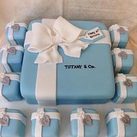 Tiffany gift boxes