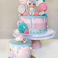 Drip cake LOL surprise