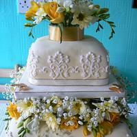 Mam & Dad's Golden wedding cake