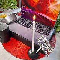 Dogum gunu laptop cake by Aysin