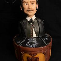 POE- Science Fiction Cake Collaboration