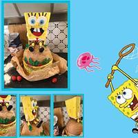 Spongebob Burger Cake x Nicoló
