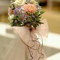 bridal bouquet- freeformed sugar flowers