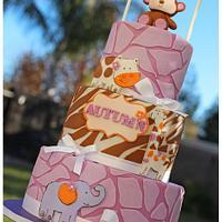 Jacana Cocalo Bedding cake