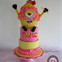 Girly Cupcake Minion :-)