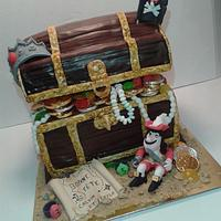 chest cake