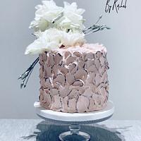 Antique Rose Birthday Cake
