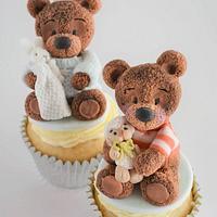 Baby Bear Cupcakes
