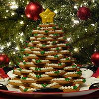 Gingerbread cookie tree