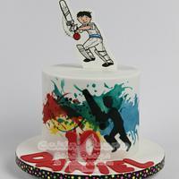 Cricket theme for Daniel's 10th Birthday