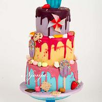 Candy sweets cake