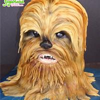 Chewbacca (Star Wars) cake