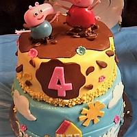 Peppa the Pig Birthday party