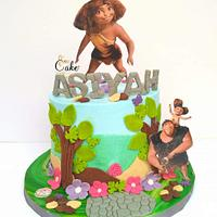 The Croods cake