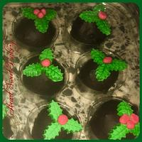 Christmas chocolate bonbons