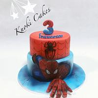 Spiderman cake Birthday