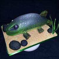 Fish cake by Cake Love