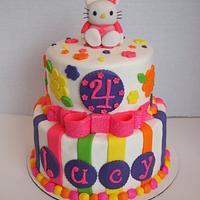 Hello Kitty Bling Cake