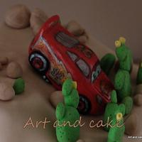 cars cake by marja