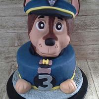 Chase from Paw Patrol for Hudson