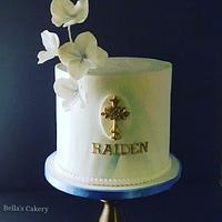 Christening cake!