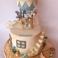 Baby vintage cake