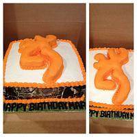 Mans browning cake