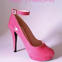Sugar stiletto with ankle strap