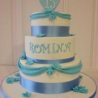 15 years old cake by nectarcupcakes