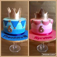 Royal Twins Birthday Cakes