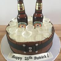 Magnets Cider Barrel 25th Birthday Cake